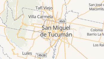 Mapa online de Tucumán