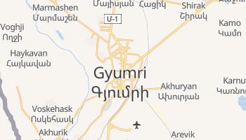 Mapa online de Gyumri