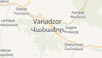 Mapa online de Vanadzor