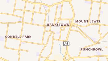 Mapa online de Bankstown