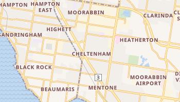 Mapa online de Cheltenham