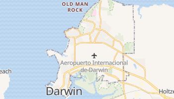 Mapa online de Darwin