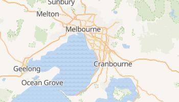 Mapa online de Melbourne