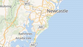 Mapa online de Newcastle
