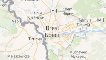 Mapa online de Brest