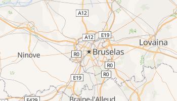 Mapa online de Bruselas