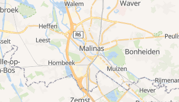 Mapa online de Malinas