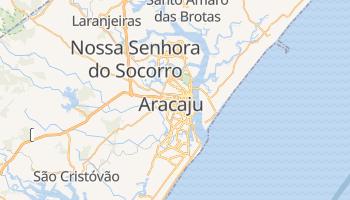 Mapa online de Aracaju