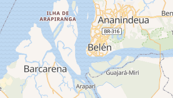 Mapa online de Belém