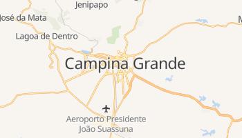 Mapa online de Campina Grande