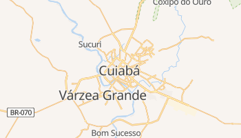 Mapa online de Cuiabá