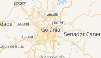 Mapa online de Goiânia