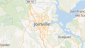 Mapa online de Joinville