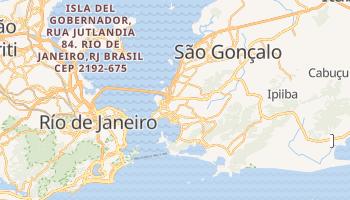 Mapa online de Niterói