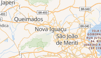 Mapa online de Nova Iguaçu