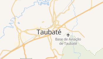 Mapa online de Taubaté