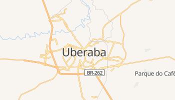 Mapa online de Uberaba