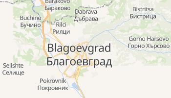 Mapa online de Blagoevgrad