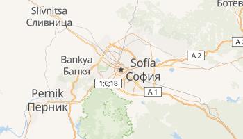 Mapa online de Sofía