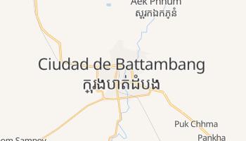 Mapa online de Ciudad de Battambang