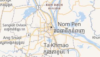 Mapa online de Phnom Penh