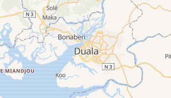 Mapa online de Duala