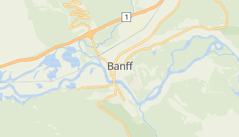 Mapa online de Banff