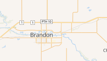 Mapa online de Brandon