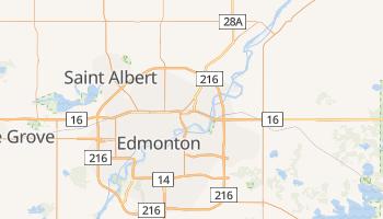 Mapa online de Edmonton