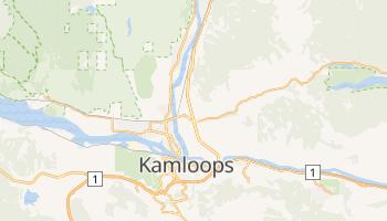 Mapa online de Kamloops