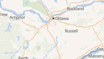 Mapa online de Ottawa