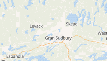 Mapa online de Gran Sudbury