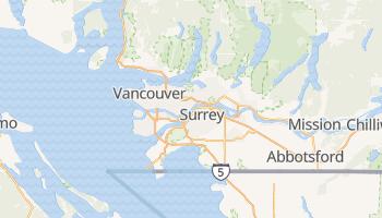 Mapa online de Vancouver