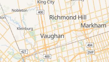 Mapa online de Vaughan