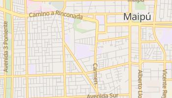Mapa online de Maipú