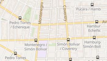 Mapa online de Ñuñoa