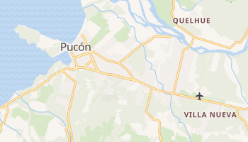 Mapa online de Pucón