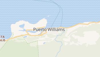 Mapa online de Puerto Williams