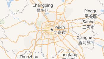 Mapa online de Pekín