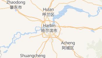 Mapa online de Harbin