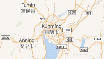 Mapa online de Kunming