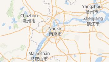 Mapa online de Nanjing