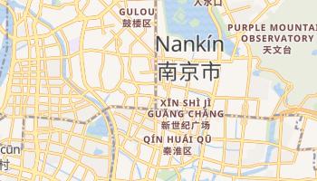 Mapa online de Nankín