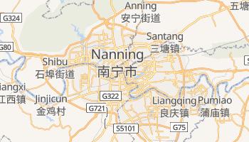 Mapa online de Nanning