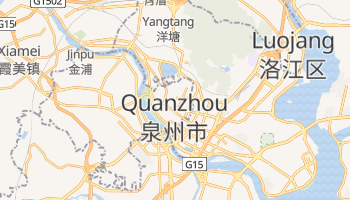 Mapa online de Quanzhou