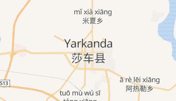 Mapa online de Yarkanda