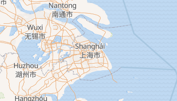 Mapa online de Shanghai