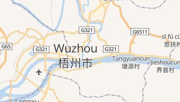 Mapa online de Wuzhou