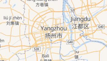 Mapa online de Yangzhou
