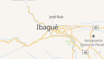 Mapa online de Ibagué